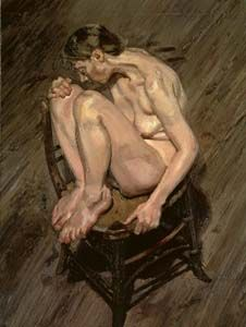 Lucien Freud, Naked girl